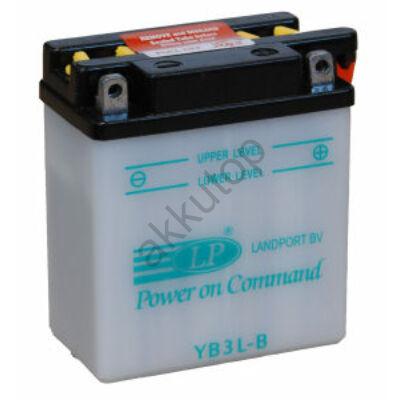 Landport 12V 3 Ah jobb+ ( YB3L-B ) akkumulátor