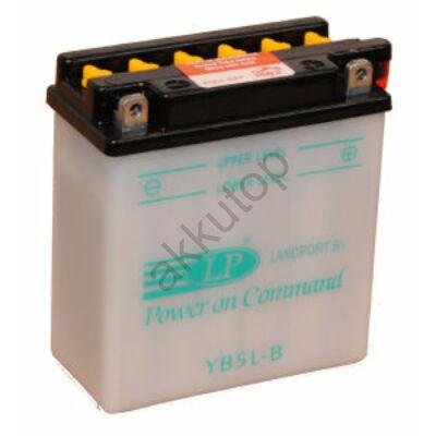 Landport 12V 5 Ah jobb+ ( YB5L-B ) akkumulátor