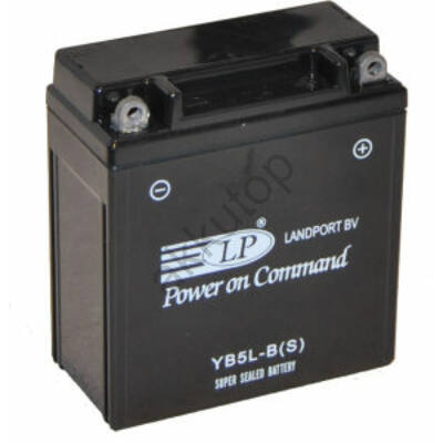 Landport 12V 5 Ah AGM+SLA jobb+ ( YB5L-B(S) ) akkumulátor