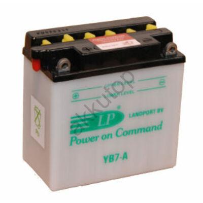 Landport 12V 8 Ah bal+ ( YB7-A ) akkumulátor