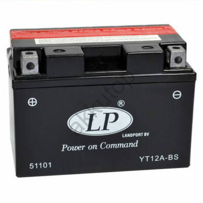Landport 12V 11 Ah AGM bal+ ( YT12A-BS ) akkumulátor