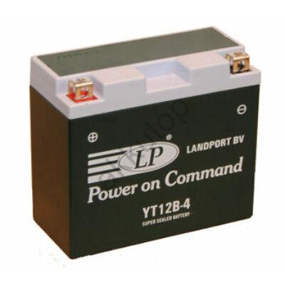 Landport 12V 11 Ah AGM+SLA bal+ ( YT12B-4 ) akkumulátor