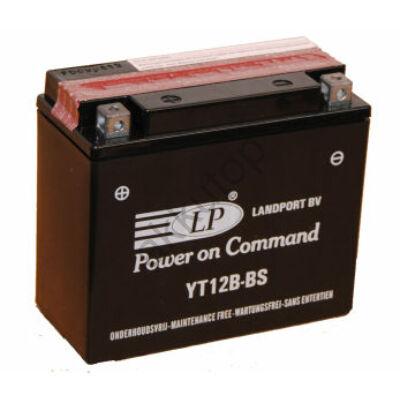 Landport 12V 11 Ah AGM bal+ ( YT12B-BS ) akkumulátor