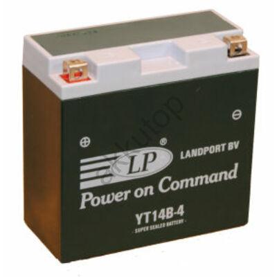 Landport 12V 12 Ah AGM+SLA bal+ ( YT14B-4 ) akkumulátor
