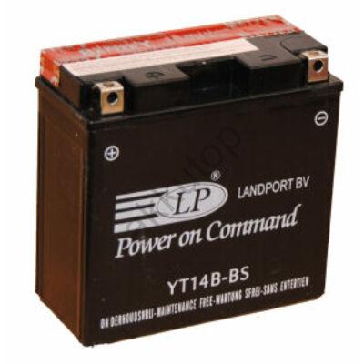 Landport 12V 12 Ah AGM bal+ ( YT14B-BS ) akkumulátor