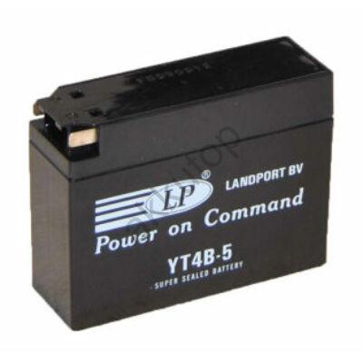 Landport 12V 2,3 Ah AGM+SLA jobb+ ( YT4B-5 ) akkumulátor