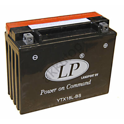 Landport 12V 18 Ah AGM jobb+ ( YTX18L-BS )