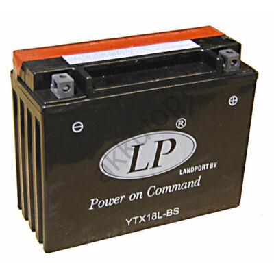 Landport 12V 18 Ah AGM jobb+ ( YTX18L-BS ) akkumulátor