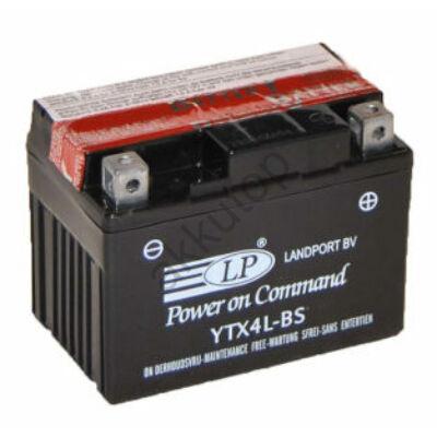 Landport 12V 3 Ah AGM jobb+ ( YTX4L-BS ) akkumulátor
