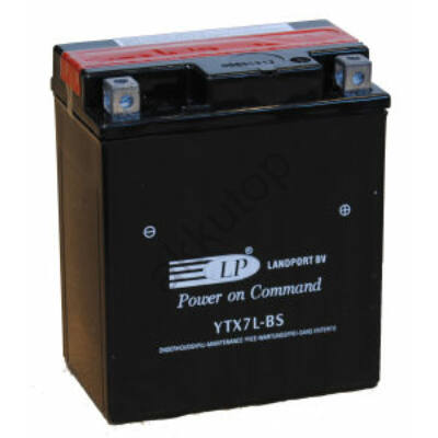 Landport 12V 6 Ah AGM jobb+ ( YTX7L-BS )