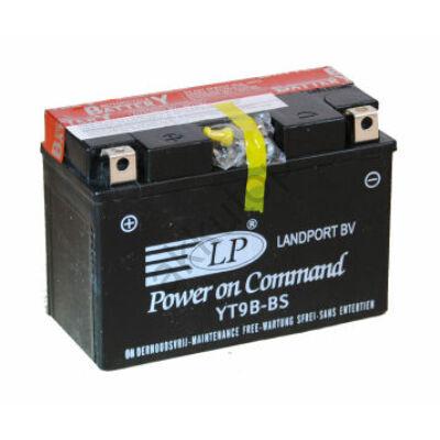 Landport 12V 8 Ah AGM bal+ ( YTX9-BS ) akkumulátor