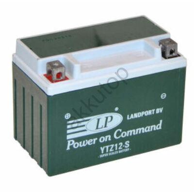 Landport 12V 11 Ah AGM+SLA bal+ ( YTZ12S ) akkumulátor