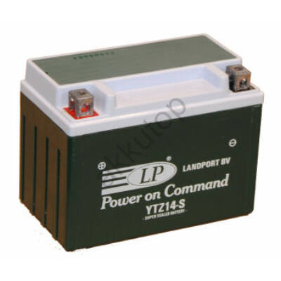 Landport 12V 12 Ah AGM+SLA bal+ ( YTZ14S ) akkumulátor