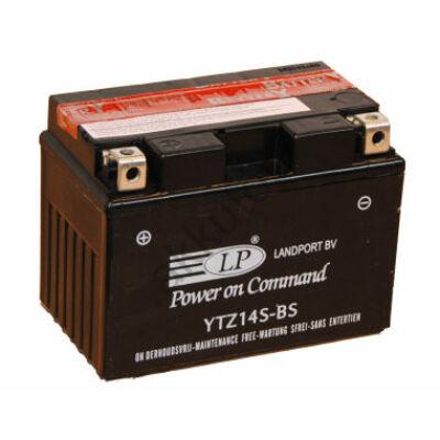 Landport 12V 12 Ah AGM bal+ ( YTZ14S-BS ) akkumulátor