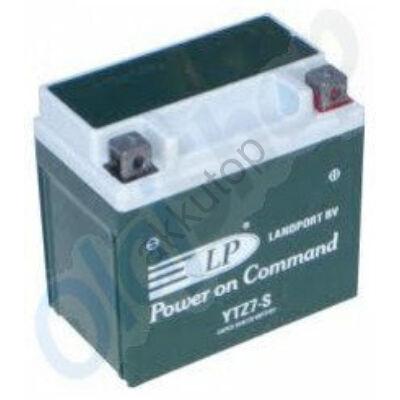 Landport 12V 6 Ah AGM+SLA jobb+ ( YTZ7S ) akkumulátor