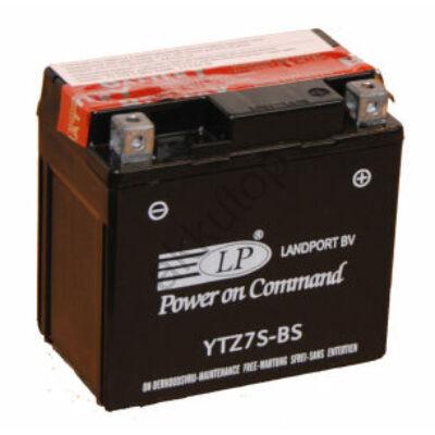 Landport 12V 6 Ah AGM jobb+ ( YTZ7S-BS ) akkumulátor
