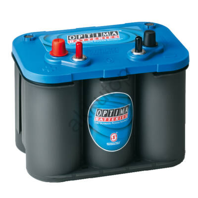Optima Blue Top 50 Ah bal+ akkumulátor