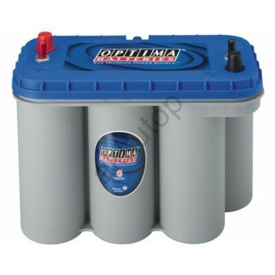 Optima Blue Top 75 Ah bal+ (normál és csavaros) akkumulátor