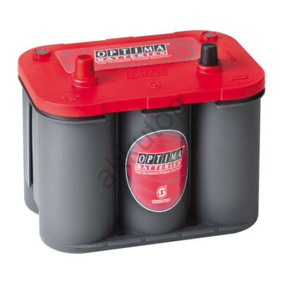 Optima Red Top 50 Ah bal+ akkumulátor