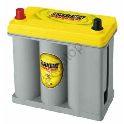 Optima Yellow Top 38 Ah bal+ (vékony sarus) akkumulátor