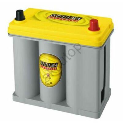 Optima Yellow Top 38 Ah jobb+ (vékony sarus) akkumulátor