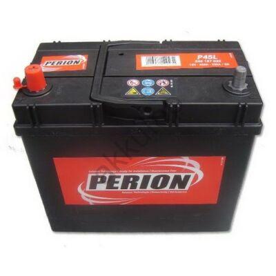 Perion 45 Ah bal+ (vékony sarus)