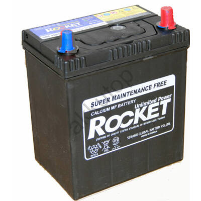 Rocket 40 Ah jobb+ (vékony sarus) SMF42B19L akkumulátor