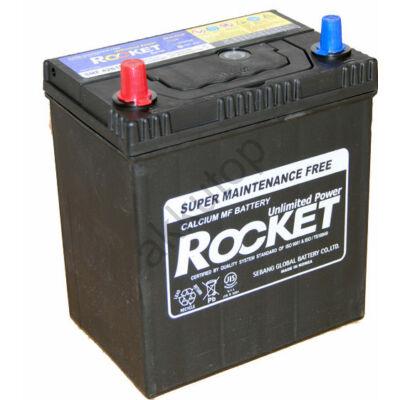 Rocket 40 Ah Bal+ (vékony sarus) SMF42B19R