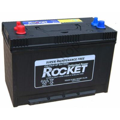 Rocket 110 Ah Bal+ akkumulátor