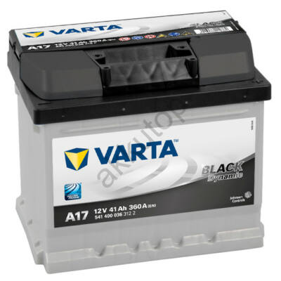 Varta BLACK dynamic 41 Ah jobb+ 5414000363122