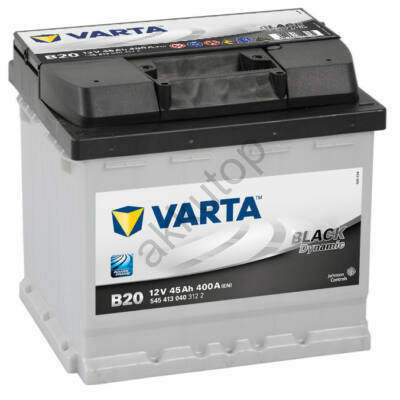 Varta BLACK dynamic 45 Ah bal+ 5454130403122 akkumulátor
