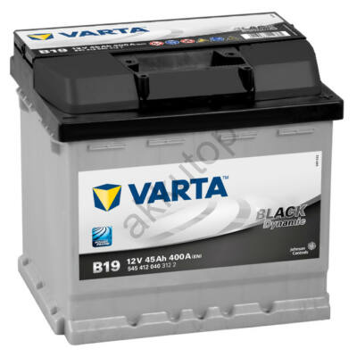 Varta BLACK dynamic 45 Ah jobb+