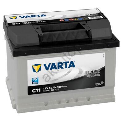 Varta BLACK dynamic 53 Ah jobb+