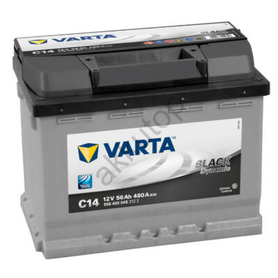 Varta BLACK dynamic 56 Ah jobb+ 5564000483122
