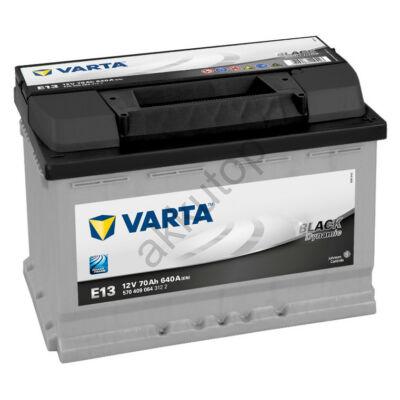 Varta BLACK dynamic 70 Ah jobb+ 5704090643122