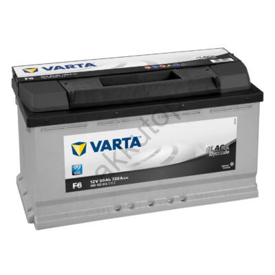 Varta BLACK dynamic 90 Ah jobb+