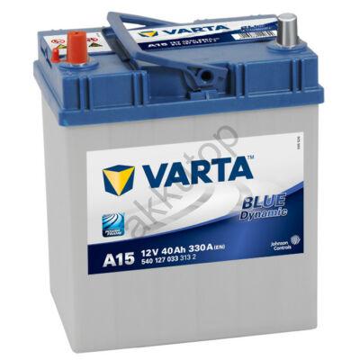 Varta BLUE dynamic 40 Ah bal+ (vékony sarus)