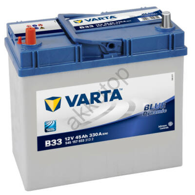 Varta BLUE dynamic 45 Ah bal+ (vékony sarus) 5451570333132 akkumulátor