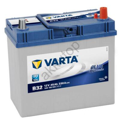 Varta BLUE dynamic 45 Ah jobb+ 5451560333132 akkumulátor