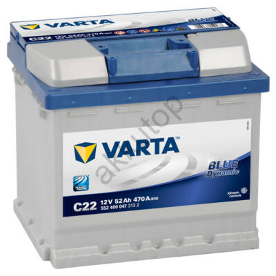 Varta BLUE dynamic 52 Ah jobb+ 5524000473132