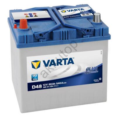 Varta BLUE dynamic 60 Ah bal+ 5604110543132