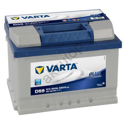 Varta BLUE dynamic 60 Ah jobb+ 5604090543132