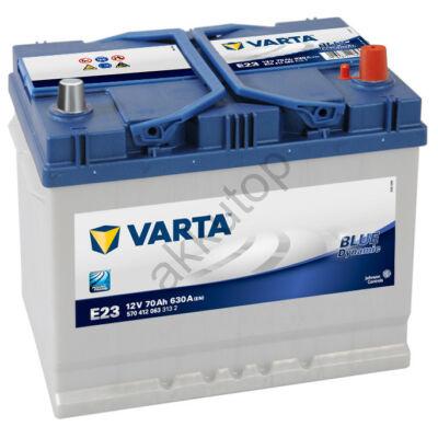 Varta BLUE dynamic 70 Ah jobb+ 5704120633132