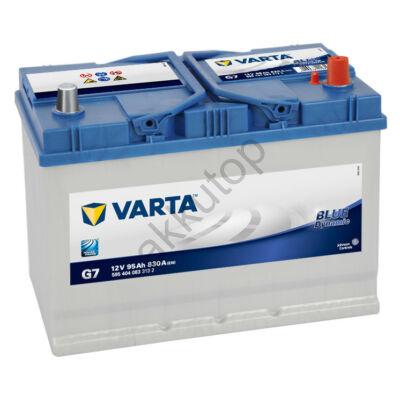 Varta BLUE dynamic 95 Ah jobb+ 5954040833132 akkumulátor