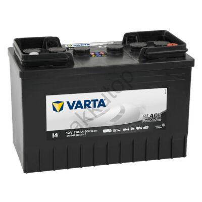 Varta PROmotive Black 110 Ah jobb+ akkumulátor 610047068A742