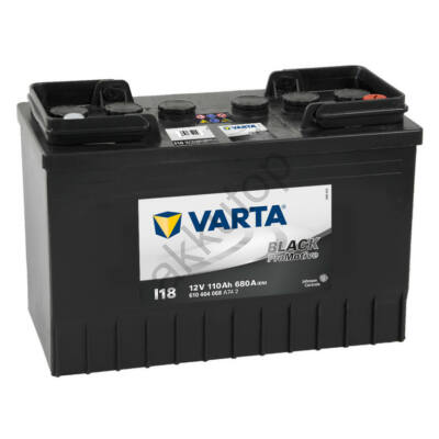 Varta PROmotive Black 110 Ah jobb+ akkumulátor (talpas) 610404068A742