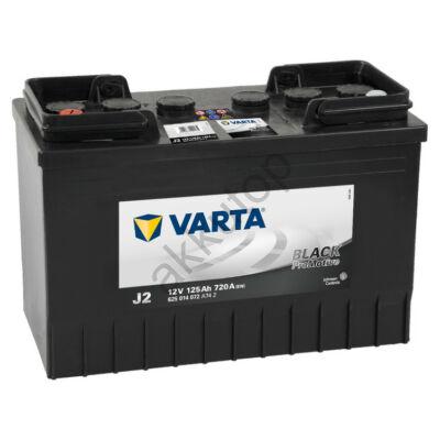 Varta PROmotive Black 125 Ah bal+ akkumulátor