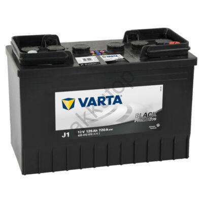 Varta PROmotive Black 125 Ah jobb+ akkumulátor 625012072A742