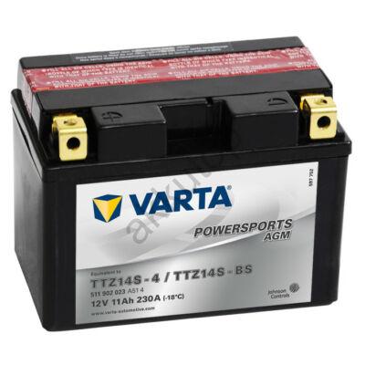 Varta Powersports AGM 11 Ah  ( YTZ14S-4   YTZ14S-BS )