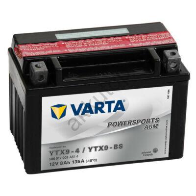 Varta Powersports AGM 8 Ah  ( YTX9-4   YTX9-BS )